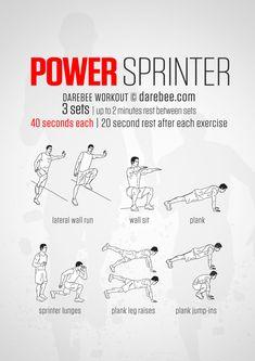 sprinter workout  running  pinterest  workout