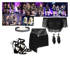 SNSD - 2015 Gayo Daegu by marisolmoua on Polyvore featuring polyvore fashion style Topshop Dsquared2 Kenneth Cole Humble Chic clothing