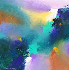 Tidal Shift 2 Acrylic on Canvas by David M. Kessler. Art. Abstract Art.  www.davidmkessler.com