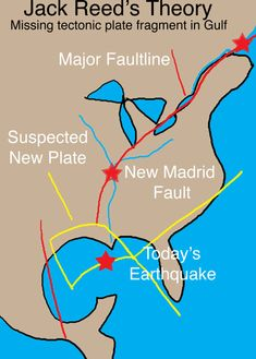 new madrid fault | How far are you from the New Madrid fault line (red line) ?