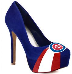 chicago cubs pumps!!