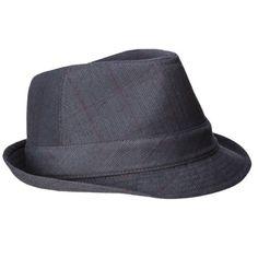 Men's Fedora Hat - Gray
