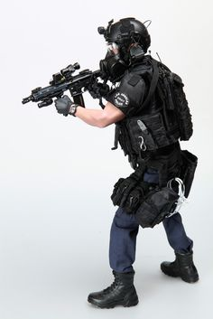 DID MILITARY_ONE SIX SCALE_LAPD_SWAT!