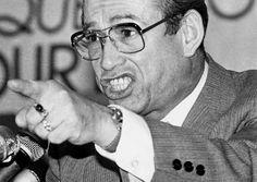 Camile Samson, président-fondateur du ralliement créditiste créé en 1970.