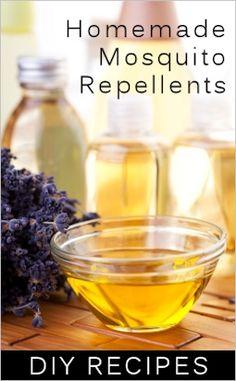 DIY All-natural bug repellent