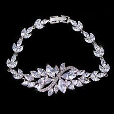 Elegant Link Chained Double Safety Clasps Strand Bracelets | Stylish Beth