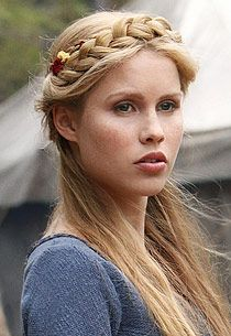 Claire Holt as Rebekah on Vampire Diaries.  It's NUTS how gorgeous all the girls on this show are.