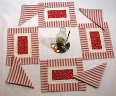 American Girl Doll Table Placemat Set with by DollPatchworks, $18.00