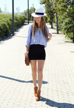 23 Casual And Stylish Street Style With Denim Shirts ‹ ALL FOR FASHION DESIGN