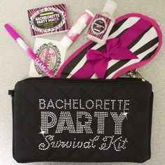 Need great Bachelorette Party Favors? Check out this Bachelorette Party Survival Kit