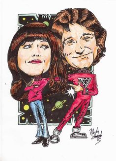 Mork and Mindy by Marty Street