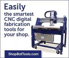 Founded in 1996 and based in Durham, North Carolina, the unique mission of ShopBot Tools is to make the empowering technology of digital fabrication widely accessible and usable. Fabrication Tools, Digital Fabrication, New Electronic Gadgets, Electronics Gadgets, Durham, Drafting Desk, Get One, Cnc, North Carolina