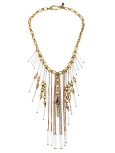 The Masquerade Clear Statement Necklace by Vanessa Mooney