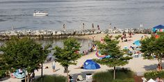 Yorktown Beach Located In Historic This Beachfront Provides Opportunities For Boating Swimming And Fishing A Pier Gr Picnic
