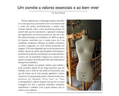 Texto escrito para a revista Ideô, projeto de estudantes de moda da faculdade UNA de Belo Horizonte.