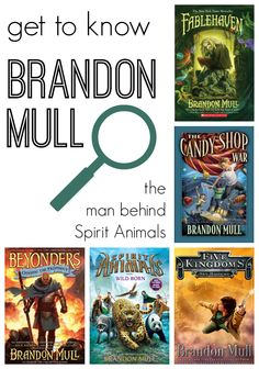 "Our #RaiseaReader #parents blog continues our meet-the-author series with Brandon Mull, author of the first ""Spirit Animals"" book. Click for more. parent blog"