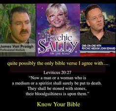 Not good news for psychics
