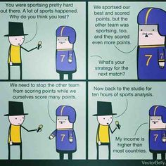 Yeah.. pretty much how I see sports.