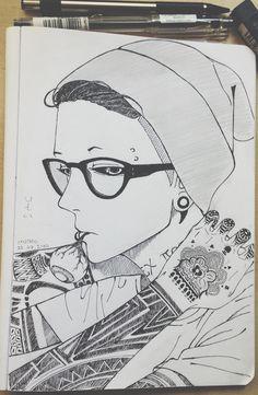 Uta Shishio :'D Uta-san… ( ~OwO)~  Este dibujo esta mega genial♥ Un aplauso a quien lo hiso :3