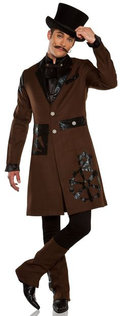 Steampunk Costume | ... Steampunk Captain Adult Costume Historical Costumes - Mr. Costumes