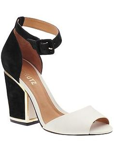 I sure do love a good ankle-wrap sandal.  Who's with me?
