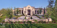 Formal Mediterranean Style adorns this Candelaria Design ~ MRA Custom Estate in Paradise Valley, Arizona