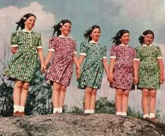 The Dionne Sisters (Quintuplets) Kate 8, Multiple Births, Long Pictures, Triplets, Siblings, Cute Twins, Multiplication For Kids, Beautiful Little Girls, Infancy