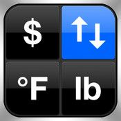 Convert Any Unit Free - Units & Currency Converter & Calculator.  If you travel you MUST have this app!