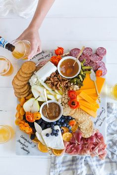 How to set up a Beer and Cheese Pairing Party with the ultimate cheese board + what beers to pair it with!