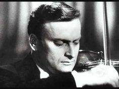 """Yehudi Menuhin """"Violin Concerto D Major, op. 61"""" (1. Mov.) Beethoven - YouTube"""