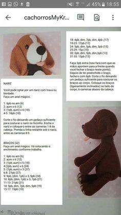 Best 11 - Страница 378372806193824012 - SkillOfKing.Com - Ее вязание крючком Crochet Dog Patterns, Crochet Bunny Pattern, Crochet Teddy, Crochet Bear, Crochet Animals, Amigurumi Patterns, Crochet Dolls, Free Crochet, Crochet Unicorn