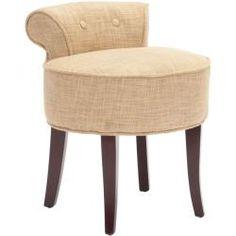 Safavieh Rochelle Gold Vanity Chair