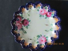 ❥ beautiful antique plate