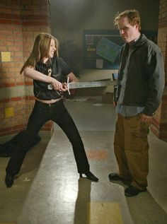 Joss Whedon from behind the scenes on Buffy
