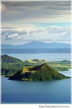 A volcano within a volcano (Taal) - Tagaytay, Batangas by Matt LeBlanc