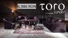 La #TORO Luxury te asteptam cu un mobilier plin de rafinament, perfect pentru un living modern!   Rezervari si comenzi: 0746 661 384  Preturi Janus Living: -1 canapea la pretul de 6,986 RON  -1 fotoliu - 3,514 RON Living Modern, Couch, Luxury, Furniture, Home Decor, Homemade Home Decor, Sofa, Sofas, Home Furnishings