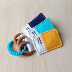 Pantone Inspired Baby Toy by PrimSociety on Etsy