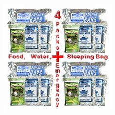 Survival Aid 24-Hour Emergency Pack for 4 People http://www.ebay.com/itm/Survival-Aid-24-Hour-Emergency-Pack-4-People-Food-Water-Sleeping-Bag-/111644443687?pt=LH_DefaultDomain_0&hash=item19fe870427 Food/Water/Sleeping Bag #Mainstay
