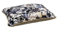 Designer Rectangular Dog Bed in Vogue Fabric (X Large: 46 x 34 x 8 in.) >>> Discover this special dog product, click the image : Pet dog bedding