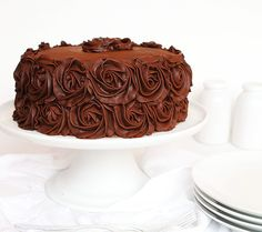 The Perfect Chocolate Cake Recipe and Perfect Chocolate Buttercream