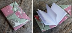 My Handbound Books - Bookbinding Blog: folded books