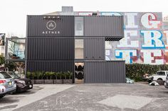 AETHER opens a new shop in San Francisco made entirely of shipping containers