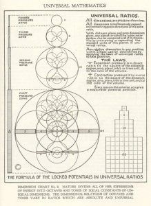 """Universal Mathematics """"Nature divides all of her expressions of energy into octaves and tones of equal constants of unequal dimensions. The dimensional relations of octaves and tones vary in ratios which are absolute and universal. Geometry Art, Sacred Geometry, Fractal Geometry, Geometric Patterns, Geometric Nature, Spirit Science, E Mc2, Math Art, Quantum Physics"""