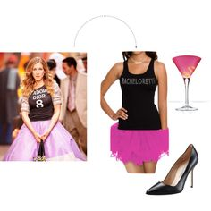 """""""Sex And the City Bachelorette Look!"""" by thobachelorette on Polyvore"""