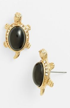 Anne Klein Turtle Stud Earrings available at Nordstrom