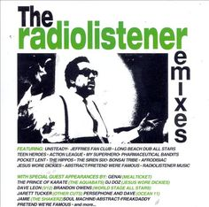 """Radiolistener Remixes - Various Artists.  Interesting mix of remixes and other good tunes.  It even includes a cover of """"Don't Let Me Down.""""  I'm listening to the rest right now in my office."""