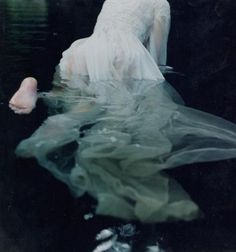 asylum-art:Lady in the Water, for Harper's Bazaar Toni Frissell   last thoughts of ophelia