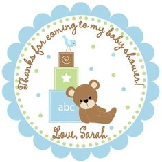 Blue Safari Baby Shower Invitations is amazing invitation sample