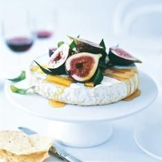 Marinated Figs With Brie