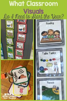 With so many classroom visuals to choose from, how do you decide where to start? Check out examples and ideas for where to begin in today's post. via @drchrisreeve